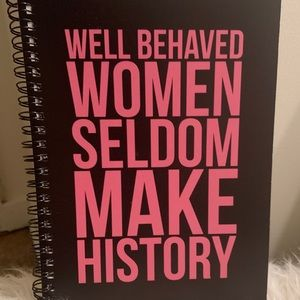 Redbubble NWOT Marilyn Monroe Notebook Quote